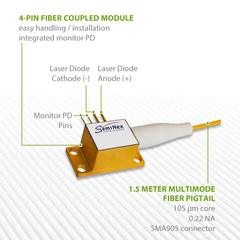 high power 1550nm 3W laser diode 3