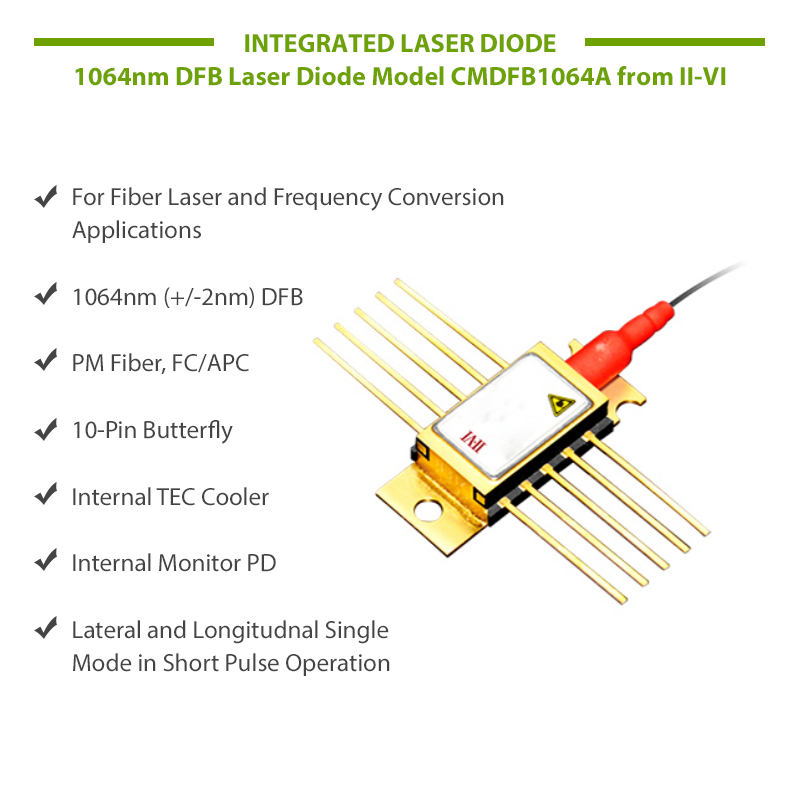 DFB Laser Diode Features