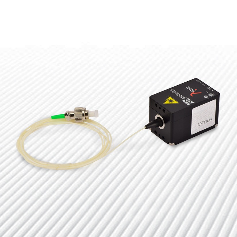 Single Mode Fiber Coupled 520nm Laser Source